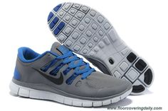 cheap for discount 057d4 5997d Mens Nike Free 5.0 Grey Blue Black 579959-004 Sale Nike Free Flyknit, Free