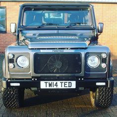 The Twisted Stage 1 Grille. #TwistedDefender #Defender #LandRover #LandRoverDefender #Yorkshire #BestOfBritish #CarThrottle #Cars #Automotive #4x4 #Details #Handmade #Handcrafted #Iconic #Modified #Customised #AntiOrdinary #DefenderRedefined #Grille by twisted_automotive