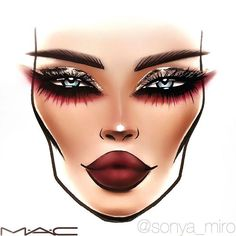WEBSTA @ sonya_miro - ✨GLITTER AND BURGUNDY❤️ eyes #FACECHART #SONYAMIRO #facechartsonyamiro #Moscow #maccosmetics #bbloggers #blogger #москва #macfacechart #facechartpro #макияж #макияжмосква #визажист #визажистмосква #hudabeauty #vegasnay #beautiful #awesome #фейсчарт #makeupartist #makeup @maccosmeticsrussia @maccosmetics #dubai #holidaymakeup #beauty #фейсчарт
