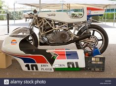 1974 Norton F750 Spaceframe With Cowling's Removed In The Paddock At Stock Photo, Royalty Free Image: 30410889 - Alamy