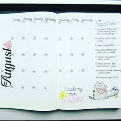 August, baby! Enjoy my monthly spread for the month of August. Hopefully I can…
