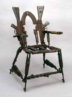 Chair of arms