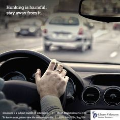 The honk in your vehicle is like a weapon. If used when unnecessary it causes harm and nuisance. #HonkNotOKPlease