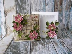 Elina Cardmaking Hobby, Paper box for greeting card