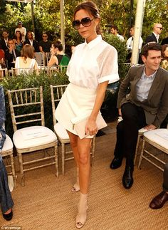 Not VGood, VB: Victoria Beckham perhaps tried too hard with this outfit, as it didn't work as well as her usually beautiful creations
