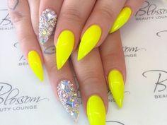 Easy Stiletto Nails Designs and Ideas