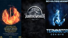#weeknewslife #cinema #Teaser, a volte ritornano #JurassicWorld #TheForceAwakens #Terminator #Genisys