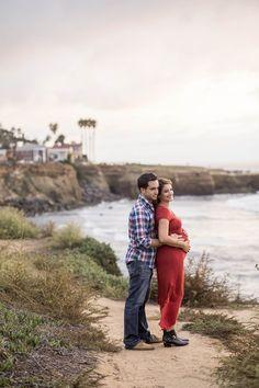 Sweet Maternity Session at Sunset Cliffs and Balboa Park I Ocean Beach I San Diego Maternity Photographer