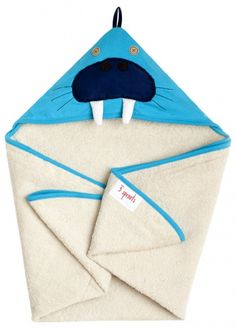 3 Sprouts Hooded Towel – Soft Cotton Hooded Baby Bath Towel for Toddler, Infant 3 Sprouts, Blue Towels, Terry Towel, Nursery Furniture, Washing Clothes, Baby Love, 2nd Baby, Baby Gifts, New Baby Products