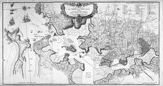 Les environs de l'Orient et du Port-Louis. Dédiés à Monseigneur le comte d'Argençon Ministre et Secretaire d'Etat de la Guerre.    Auteur : Le Rouge, Georges-Louis (1712-) Date : 1750  Taille : 2757x1467 (1.3 MO)  Origine : BNF