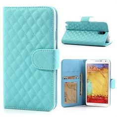 Light blue wallet case for my Samsung Galaxy Note 3 Samsung Note 3, Samsung Galaxy, Note 3 Case, Galaxy Note 3, Mobile Accessories, Light Blue, Notes, Phone Cases, Wallet