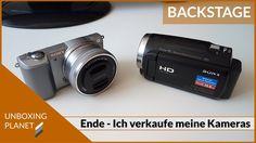 Das Ende ist da - ich verkaufe meine zwei Sony Kameras #dasende #verkaufesonykameras #sonykameras