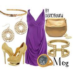 Meg by Disneybound