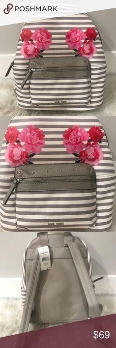 Spotted while shopping on Poshmark:  Nine West Flowers Backpack! ! #poshmark #fashion #shopping #style #Nine West #Handbags