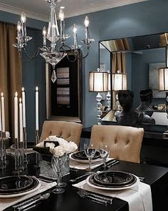 visit: www.furnishsa.com www.facebook.com/FurnishSA Candice Olsen - blue and taupe