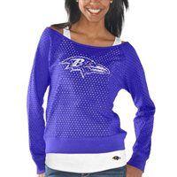 Baltimore Ravens Ladies Holy Sweatshirt & Tank Set - Purple  spirit swag #EsuranceFantasyTailgate