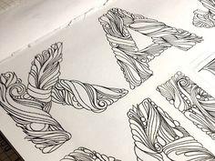 Beautiful Letters by Anna Popalo