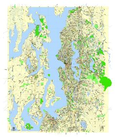 Attendance Area Maps For Seattle Seattle - Seattle us map