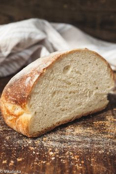 No Knead Farmhouse Bread