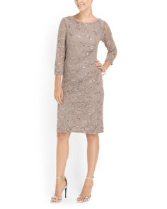 Floral Lace Pleated Side Dress