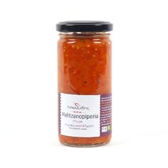 Naoumidis Red Pepper Melitzanopiperia Spread: The red Florina pepper is a unique productcultivated in the northern Greek region ofWestern Macedoniaand specifically the area ofFlorina after which it is named. Its deep red colour, the horn-like shape and its sweet flavour and  aroma make this product recognisable all over Greece. Try this series of Florina pepper products of excellent quality produced by Naoumidis family to appreciate its uniqueness.