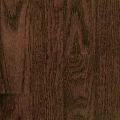 "Picture of Mullican St. Andrews Oak-Dark Chocolate 3"", call for pricing, dark brown hardwood, lifetime warranty"