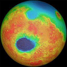 Новые сведения: на Марсе раньше была вода