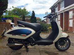 Aprilia Mojito Custom 125cc Scooter 2007 (57) | eBay
