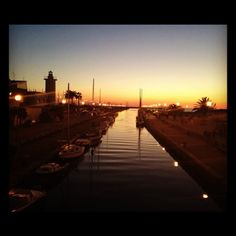 Sunset in Viareggio #sunset #viareggio