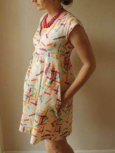 Washi Dress by madebyrae, via Flickr