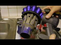 How to clean the Dyson Cordless Vacuum Cleaner - Dyson Vacuum - Ideas of Dyson Vacuum - How to clean the Dyson Cordless Vacuum Cleaner Best Cordless Vacuum, Cordless Vacuum Cleaner, Vacuum Cleaners, Diy Cleaning Products, Cleaning Solutions, Deep Cleaning, Cleaning Hacks, Clean Dyson Vacuum, Stick Vacuums