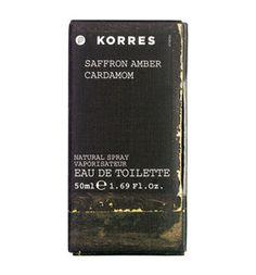 KORRES SAFFRON / AMBER / CARDAMOM Eau de toilette for men - See more at: http://www.greekpharma.com/shop/korres-saffron-amber-cardamom-eau-de-toilette-men/