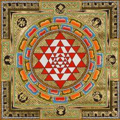 Sri Yantra Mandala Tu40 Tattoo jpg