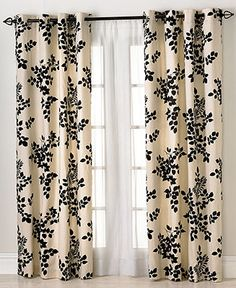Miller Curtains Window Treatments, Simsbury 50 x 84 Panel - Curtains & Drapes - for the home - Macy's in GREEN