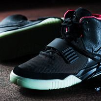 c3452f7ee9a Release Reminder: Nike Air Yeezy 2 'Black/Black-Solar Red' Probably the  most highly anticipated shoe of all time, the Nike Air Yeezy 2 finally  drops this ...