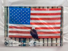 Check out PhotoCrystal, Bald Eagle US Flag Design, Home Décor, Artistic, Paperweight, Suncatcher, Photograph on treesqueaks