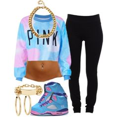 Cotton Candy Pink., created by mindlessnickiswag4ray on Polyvore