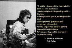 8-Bob Dylan Lyrics With Photos