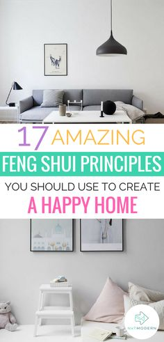 17 Feng Shui Principles to Practice in Your Home #fengshui #homedecor #interiors