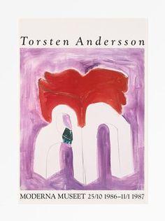 Torsten Andersson - Portik med röda vingar