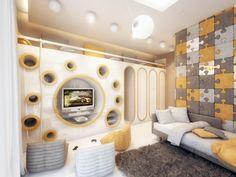 Поразительный дизайн детской комнаты