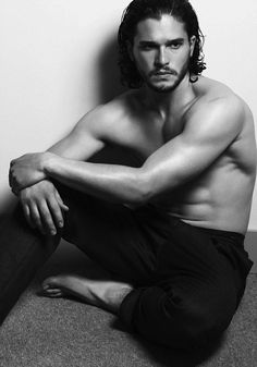 Kit Harington - Jon Snow looking good! #man