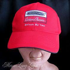 Vintage Freightliner Custom Chassis Trucker Strapback Hat Cap Trucking Driver #FreightlinerCustomChassis #BaseballCap