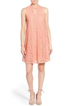 Everly Lace Shift Dress | Nordstrom
