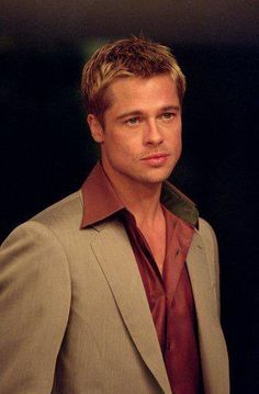 Brad Pitt, Brad And Angelina, Most Handsome Men, Hot Actors, George Clooney, Leonardo Dicaprio, Celebs, Celebrities, Aesthetic Girl