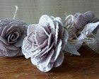 Porta guardanapo de tecido - Cor Rose