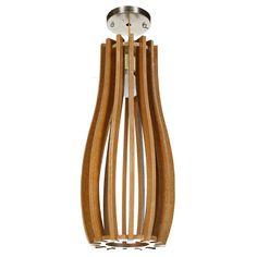 colore marrone Di legno Lamp LP-74515 X 15 X 38 CM | Arts of India – Italy