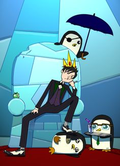 Oswald cobblepot In Adventure Time