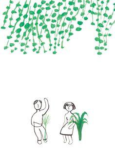 산그림 작가의 개인 갤러리 입니다. Collage Illustration, Character Illustration, Collage Art, Japanese Artists, Illustrations And Posters, Painting & Drawing, How To Draw Hands, Character Design, Doodles