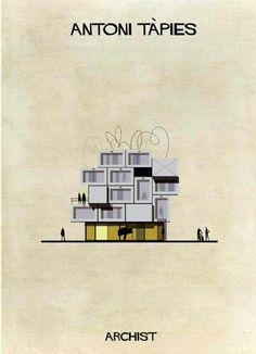 Italian architect and illustrator Federico Babina